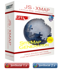 Download the JomSocial XMap Extension (JS XMAP)